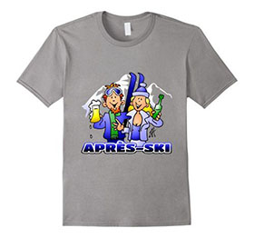Apres-Ski T-Shirt auf Merch von Amazon