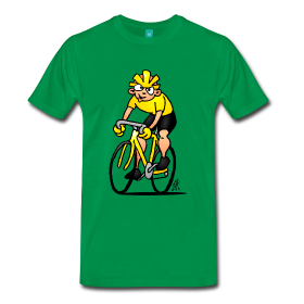 Road cyclist full color shirt