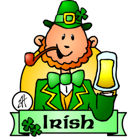 Irish Paddy on St. Patrick's Day fc