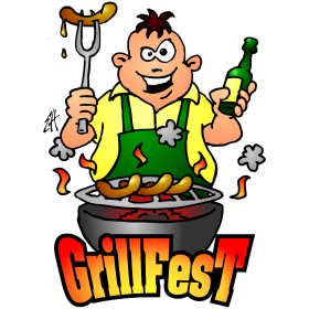 Grillfest Full Color Drawings And Illustrations To Print