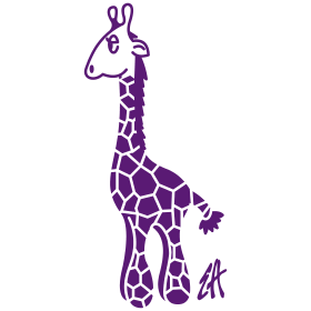 Purple giraffe mc