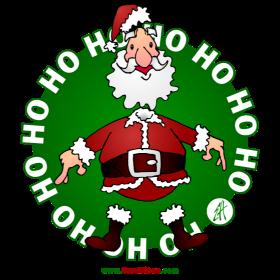 Santa Claus Ho Ho Ho fc