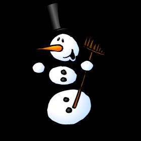 Snowman dancing fc