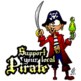 Support your local pirate fc